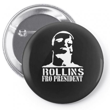Rollins For President Pin-back Button Designed By Nugraha