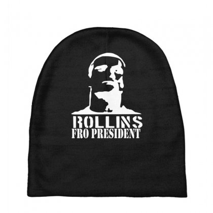 Rollins For President Baby Beanies Designed By Nugraha