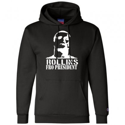 Rollins For President Champion Hoodie Designed By Nugraha