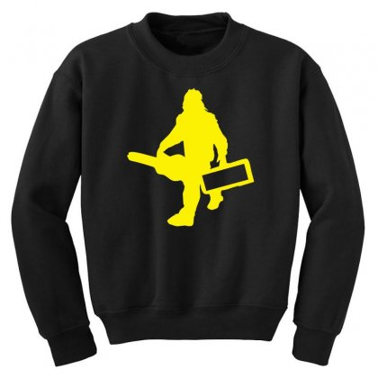 Sasquatch Guitar Gear  Funny Bigfoot Yeti Comic Monster Retro Youth Sweatshirt Designed By Nugraha
