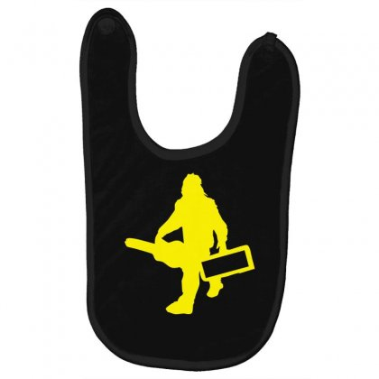 Sasquatch Guitar Gear  Funny Bigfoot Yeti Comic Monster Retro Baby Bibs Designed By Nugraha