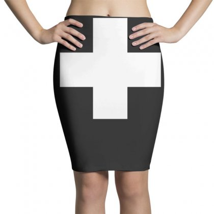 Switzerland International  Country T Sport Flag Sport Swiss Pencil Skirts Designed By Nugraha