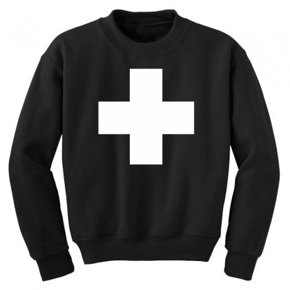 Switzerland International  Country T Sport Flag Sport Swiss Youth Sweatshirt Designed By Nugraha