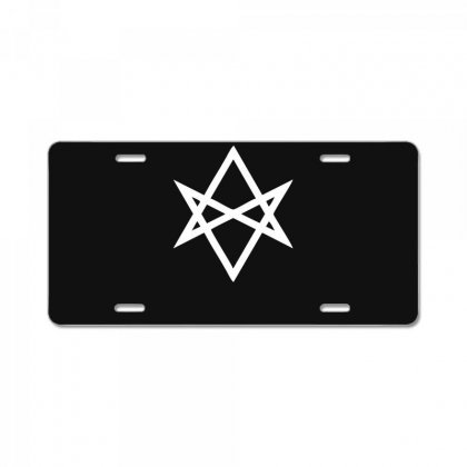 Thelema Sign License Plate Designed By Nugraha