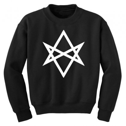 Thelema Sign Youth Sweatshirt Designed By Nugraha