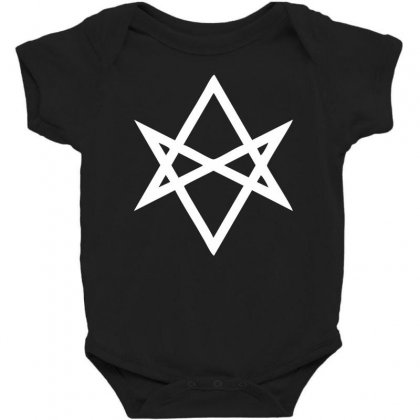 Thelema Sign Baby Bodysuit Designed By Nugraha