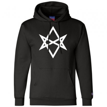 Thelema Sign Champion Hoodie Designed By Nugraha