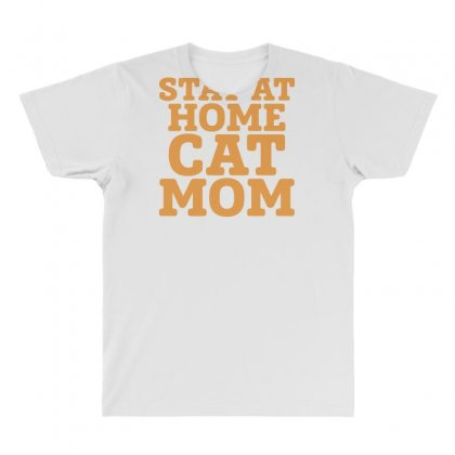 Stay At Home Cat Mom All Over Men's T-shirt Designed By Bon T-shirt