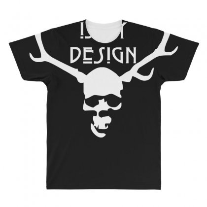 This Is My Design Funny Retro Hannibal Season Horror Vintage All Over Men's T-shirt Designed By Nugraha
