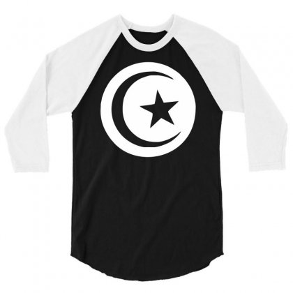 Tunisia International Support Your Country  Sport Flag Sport 3/4 Sleeve Shirt Designed By Nugraha