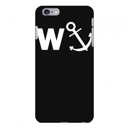 W Anchor Funny Pub Joke Iphone 6 Plus/6s Plus Case Designed By Nugraha