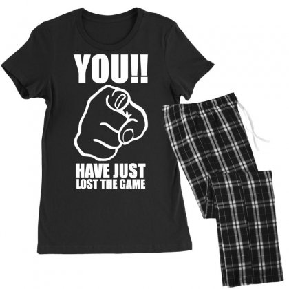You Have Just Lost The Game  Funny Computer Internet Humour Women's Pajamas Set Designed By Nugraha