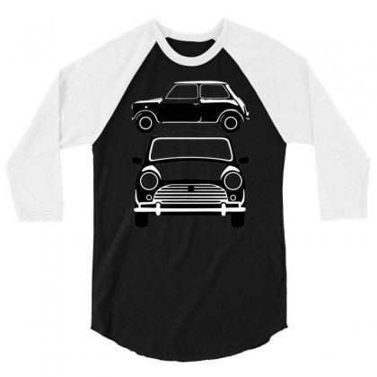 Classic Mini, Ideal Birthday Gift Or Birthday Present 3/4 Sleeve Shirt Designed By Nugraha