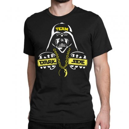 Dark Side  At Loiter Classic T-shirt Designed By Nugraha
