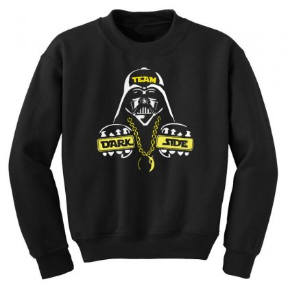 Dark Side  At Loiter Youth Sweatshirt Designed By Nugraha