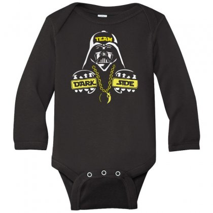 Dark Side  At Loiter Long Sleeve Baby Bodysuit Designed By Nugraha