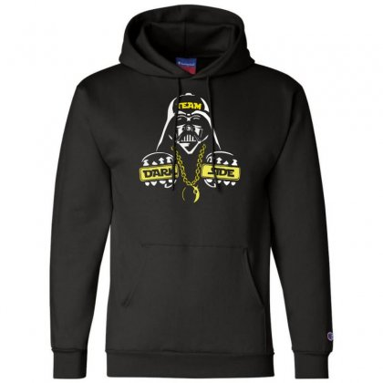 Dark Side  At Loiter Champion Hoodie Designed By Nugraha