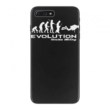 Evolution Of Scuba Divingfunny Swim Retro Sea Cool Boat Party Iphone 7 Plus Case Designed By Nugraha