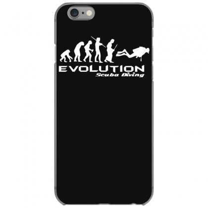 Evolution Of Scuba Divingfunny Swim Retro Sea Cool Boat Party Iphone 6/6s Case Designed By Nugraha