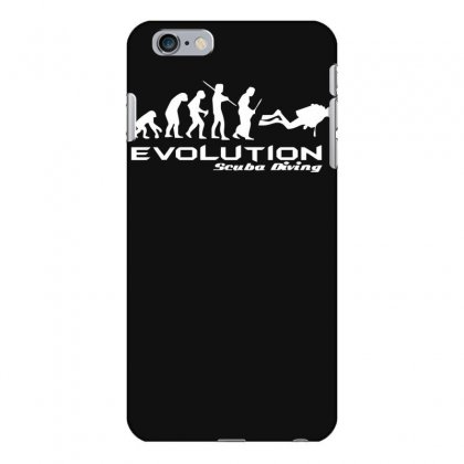 Evolution Of Scuba Divingfunny Swim Retro Sea Cool Boat Party Iphone 6 Plus/6s Plus Case Designed By Nugraha