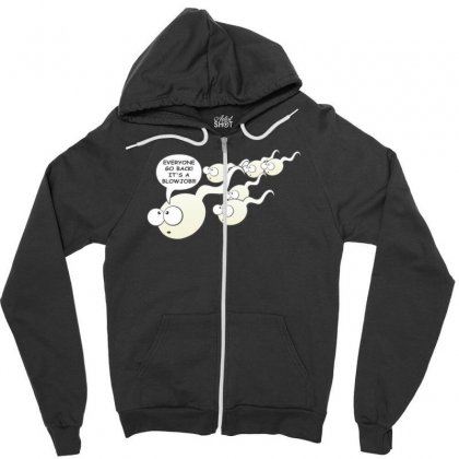Funny Rude Sperm Bj Ideal Birthday Gift Or Presen Zipper Hoodie Designed By Nugraha
