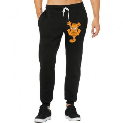 Garfield Scratching, Ideal Gift Or Birthday Present Funny Unisex Jogger Designed By Nugraha