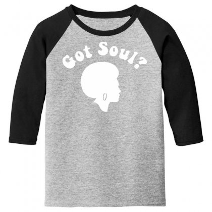 Got Soul Funny Retro Funk Disco Afro 70s Boogie Soul New York Youth 3/4 Sleeve Designed By Nugraha