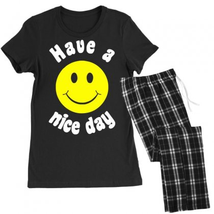 Have A Nice Day Women's Pajamas Set Designed By Nugraha