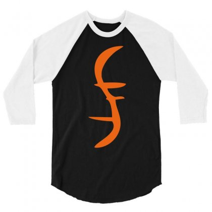 Helix Of Heroes Funny Retro Sci Fi Superhero Symbol Cool Logo 3/4 Sleeve Shirt Designed By Nugraha