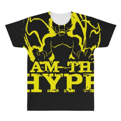 I Am The Hype All Over Men's T-shirt Designed By Nugraha