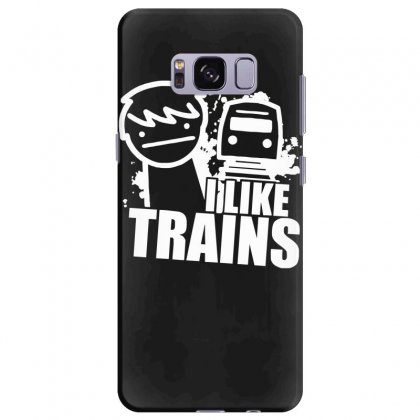 I Like Trains Samsung Galaxy S8 Plus Case Designed By Nugraha