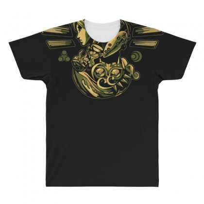 Journey Of Courage All Over Men's T-shirt Designed By Nugraha