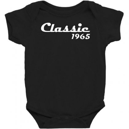 Made In 1965classic Mens 50th Birthday Gift Dad 50 Yearpresent Baby Bodysuit Designed By Nugraha