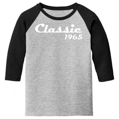 Made In 1965classic Mens 50th Birthday Gift Dad 50 Yearpresent Youth 3/4 Sleeve Designed By Nugraha