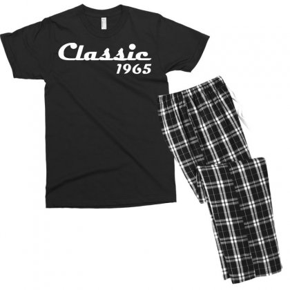 Made In 1965classic Mens 50th Birthday Gift Dad 50 Yearpresent Men's T-shirt Pajama Set Designed By Nugraha