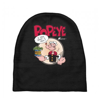 Popeye, Ideal Gift Or Birthday Present Fuuny Baby Beanies Designed By Nugraha