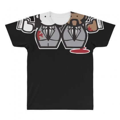 Pulp Fiction Cartoon Ideal Birthday Present Or Gift All Over Men's T-shirt Designed By Nugraha