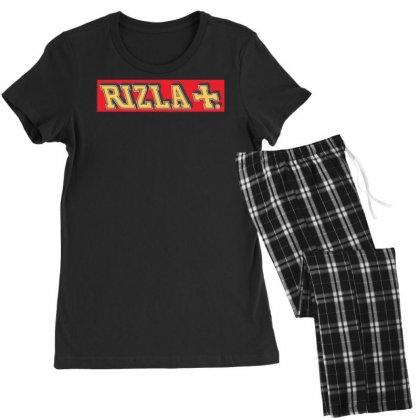 Red Rizla, Ideal Gift Or Birthday Present Women's Pajamas Set Designed By Nugraha
