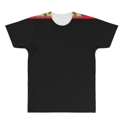 Red Rizla, Ideal Gift Or Birthday Present All Over Men's T-shirt Designed By Nugraha