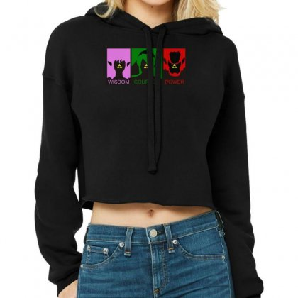 Triforce Legend Of Zelda, Ideal Gift Or Birthday Present. Cropped Hoodie Designed By Nugraha