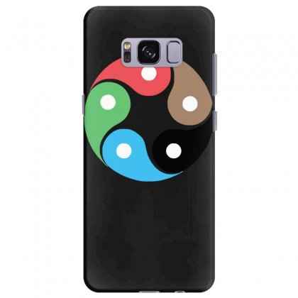 Zentao Symbol As Evolution Of The Tao (yin Yang) Samsung Galaxy S8 Plus Case Designed By Nugraha