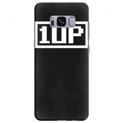 1 Up Funny Video Game Samsung Galaxy S8 Plus Case Designed By Nugraha