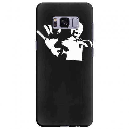 Bruce Lee Stencil Silhouette Samsung Galaxy S8 Plus Case Designed By Nugraha