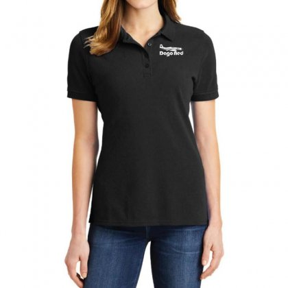 Dago Red P 51 Mustang Race 4 Reno Air Racer Decal Merlin Air Racing Ladies Polo Shirt Designed By Nugraha