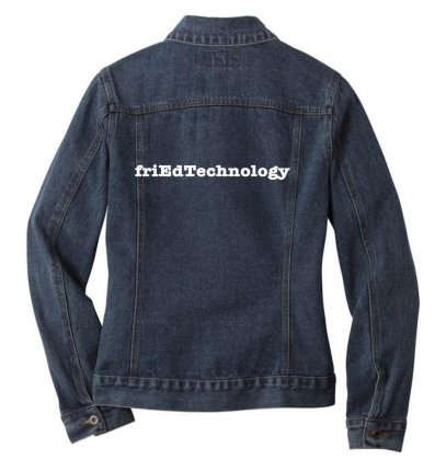Friedtechnology Ladies Denim Jacket Designed By Kakashop