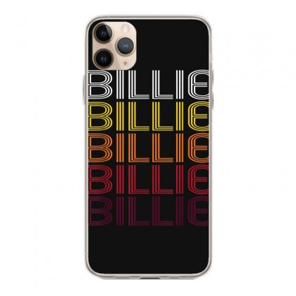 Billie Retro Wordmark Pattern   Vintage Style T Shirt Iphone 11 Pro Max Case Designed By Cuser1744