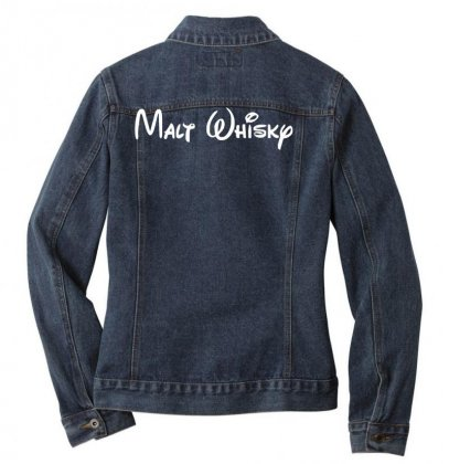 Fun Malt Whisky, Neu, Größen Ladies Denim Jacket Designed By Nugraha
