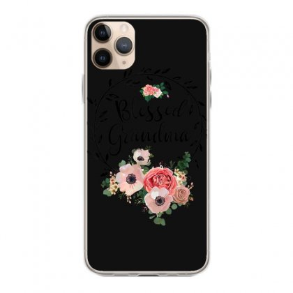Blessed Grandma T Shirt With Floral, Heart Mother's Day Gift T Shirt Iphone 11 Pro Max Case Designed By Cuser1744