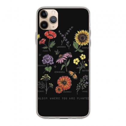 Bloom Where You Are Planted Botanican Flower Gift T Shirt Iphone 11 Pro Max Case Designed By Cuser1744
