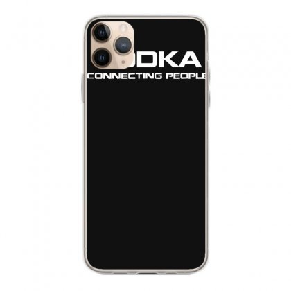 Vodka, Connecting People Iphone 11 Pro Max Case Designed By Nugraha
